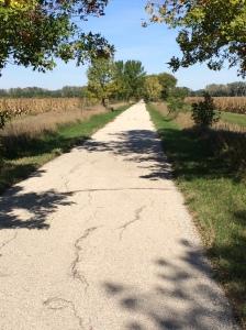 The Wabash Trace near Shenandoah Iowa